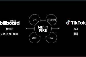 TikTok联合Billboard在日本推出全新音乐节目《Next Fire》